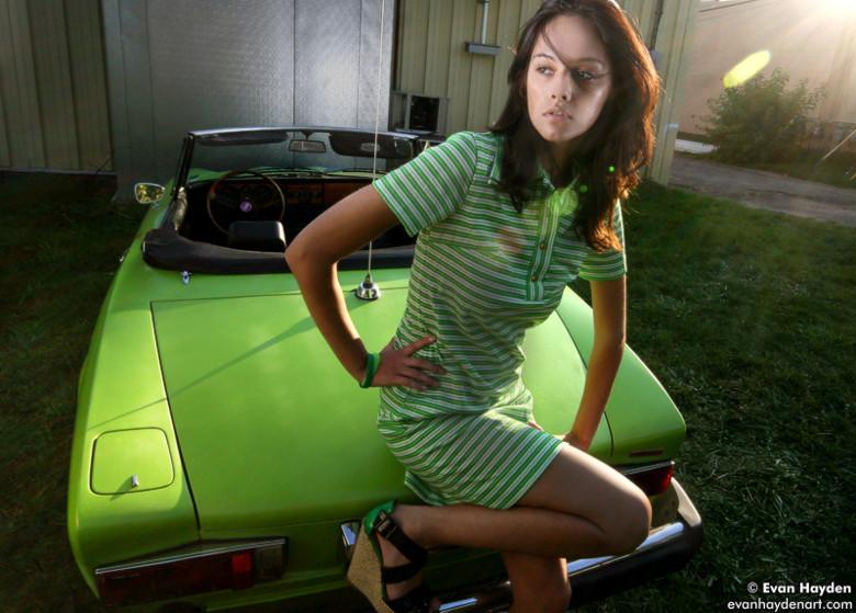 Alicia & my Fiat